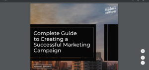 Successful marketing campaign guide