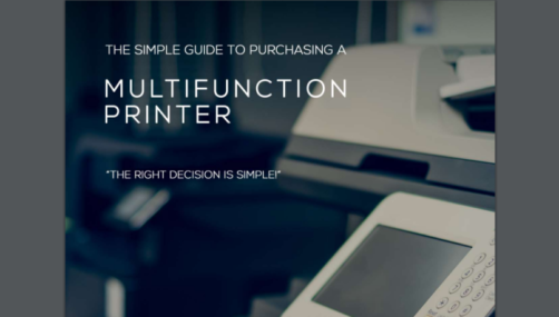 Purchasing a multifunctional printer guide